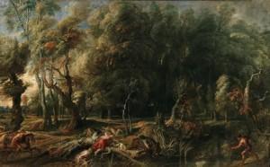 3. Atalanta y Meleagro, Rubens-Museo del Prado