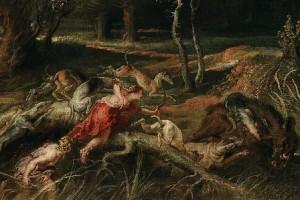 3. Atalanta y Meleagro, Rubens-detalle2-Museo del Prado