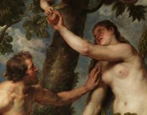 La copia que Rubens realizó de Adán y Eva de Tiziano. Restauración. Despues. Museo del Prado