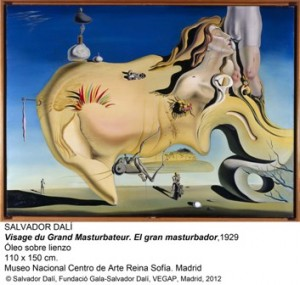 DALI, El gran mastrubador, Museo Reina Sofía