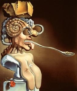 DALI-Retrato de Picasso