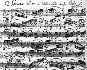 Johann Sebastian Bach,sonata