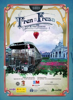 Cartel TREN DE LA FRESA 2013