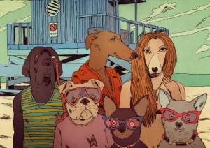 Comic de Jon Juárez para bimba & lola