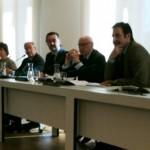 El director del Museo Miguel Zugaza y el presidente del Patronato del Prado, José Pedro Pérez-Llorca. LOGOPRESS