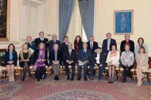 Jurado XXII Premio Reina Sofía de Poesía Iberoamericana. Palacio Real de Madrid, 16 de mayo de 2013.