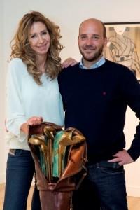 Maria Porto y Yoann Urculo