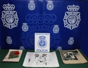 Robo Picasso y Miró. Policía Nacional