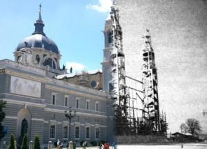 Proceso de edificación de la Catedral de La Almudena