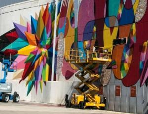 El mayor graffiti de España, 1.800 m2, en IFEMA. Mulafest