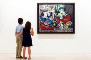 Vistas de la exposición: Foto: Jesús Domínguez © Museo Picasso Málaga