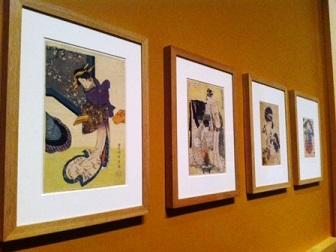 Estampas japonesas. en el Museo del Prado- Logopress