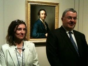 Gudrun Maurer y Stephan comisarios Mengs y Azara Museo del Prado - LOGOPRESS
