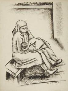 Maternidade, Colmeiro, Fundación Laxeiro