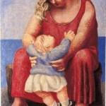 Pablo Picasso. Madre y niño. París, 1921.MPM Colección privada. Cortesía Fundación Almine y Bernard Ruiz-Picasso para el Arte