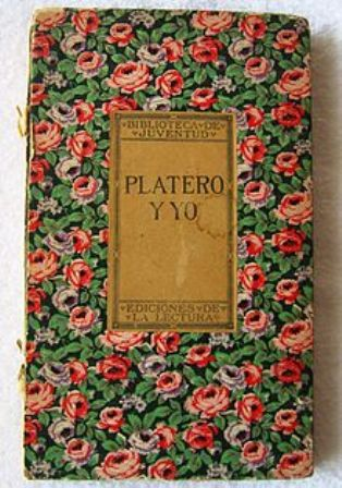 Platero y yo. Juan Ramón Jiménez. Primera edición 1914