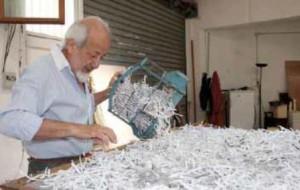 André Elbaz. La destrucción de las obras