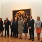 Exposición Palacio Real Inauguración 1