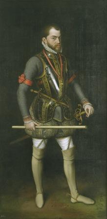 Felipe II, Antonio Moro. Patrimonio Nacional