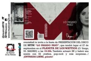 INVITACIÓN Fiesta MYM
