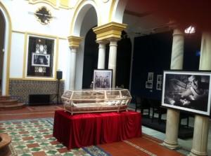 La urna de Blancanieves, exposición Festival de Cine de Sevilla