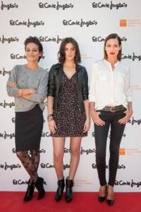 Nieves Alvarez, Laura Ponte y Alejandra Alonso, Campaña Corte Inglés