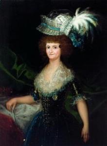 María Luisa de Parma Goya