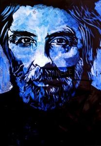 Premio Príncipe de Asturias de las Artes 2013 Mickael Haneke. bajo luz negra