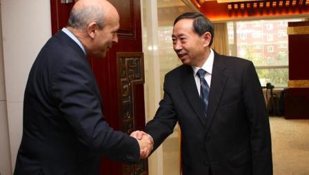 El ministro Wert en China
