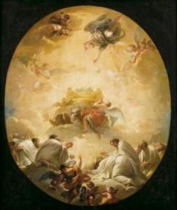 Mariano Salvador Maella, La Adoración... Patrimonio, Derecho Tanteo
