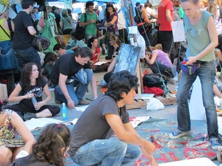 Protestas en Madrid - LOGOPRESS