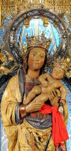 Virgen de la almudena, Catedral de la Almudena