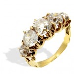 1 Suttons & Robertsons Sortija de oro y diamantes