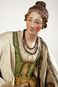 Belen Napolitano Museo Nacional de Escultura
