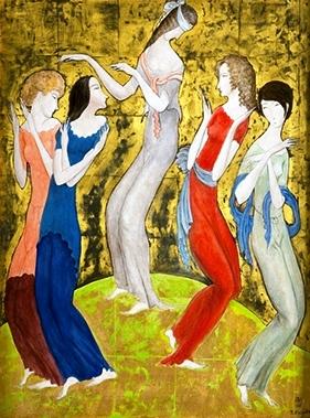 Lote 1147 LÈONARD TSUGOUHARU FOUJITA Sala Retiro Diciembre 2013