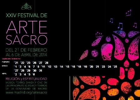 Festival Alte Sacro 2014 Comunidad de Madrid