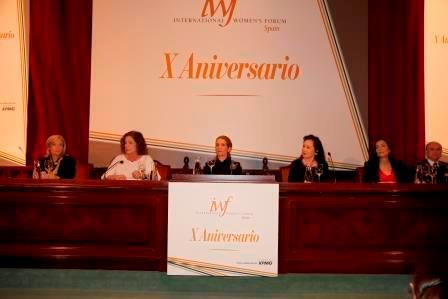X aniversario de la creación del Foro Internacional de Mujeres Líderes (IWF-España)