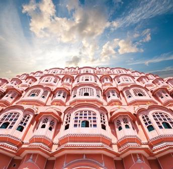 Hawa Mahal, the Palace of Winds, Jaipur, Rajasthan