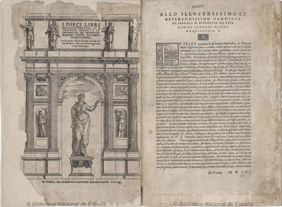 Vitruvio, Biblioteca Del Greco, BNE