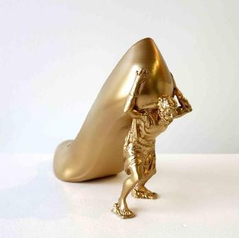 Zapato escultura
