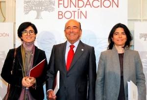 Emilio Botín con Paloma y Carmen Botín 2