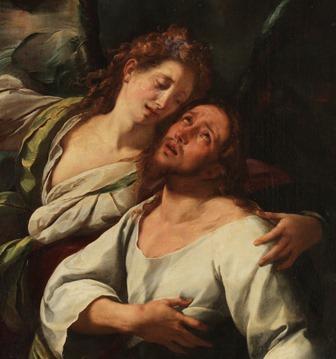 Oración en el huerto, Procaccini Museo del Prado