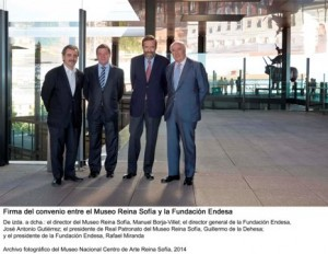 Firma convenio Museo Reina Sofía y Fundación Endesa