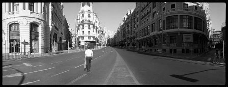 Gran Via Madrid panorámico