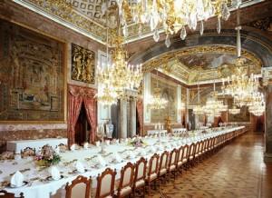 Comedor Gala Palacio Real de Madrid