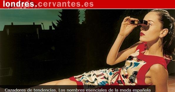 Instituto Cervantes Londres, Moda española 1