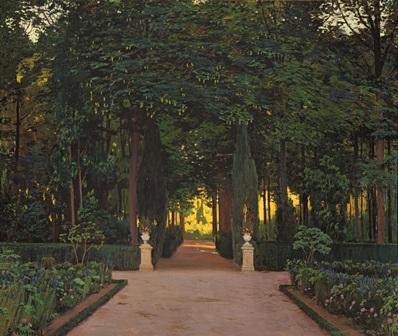 Santiago Rusiñol. Jardines de Aranjuez