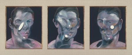 Francis Bacon Tres estudios para un retrato de Peter Beard © The Estate of Francis Bacon/VEGAP, Madrid, 2014