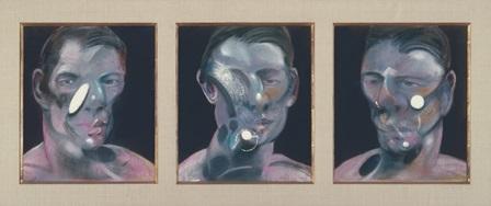 Francis Bacon Tres estudios para un retrato de Peter Beard © The Estate of Francis Bacon/VEGAP, Madrid, 2014
