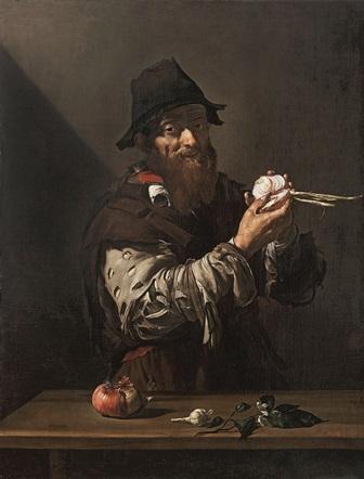 José de Ribera. El Olfato